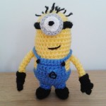 Crochet minion Ed