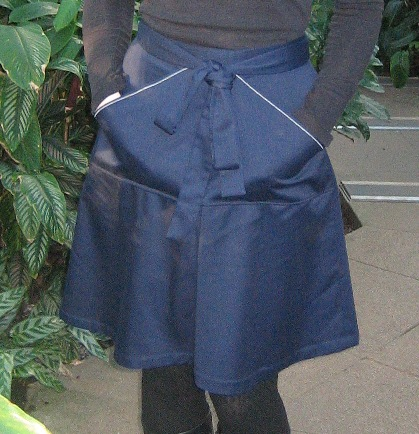 Navy blue Miette front