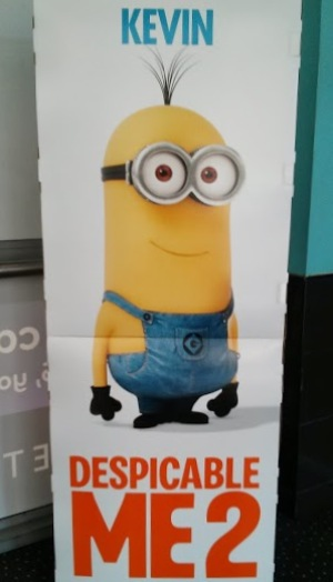 Kevin the minion Despicable Me 2 poster