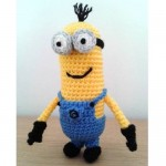 Kevin the crochet minion