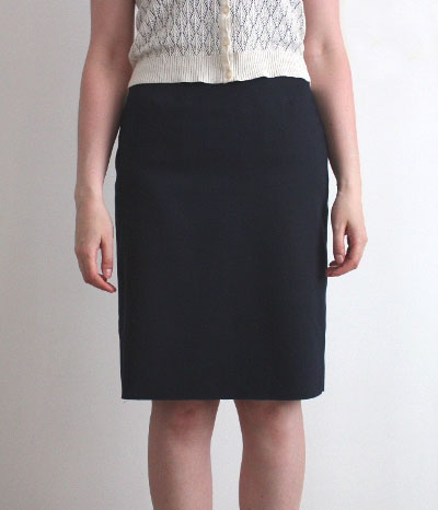 pencil skirt front