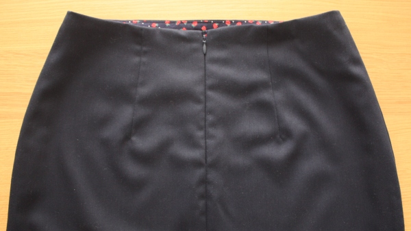 pencil skirt zip