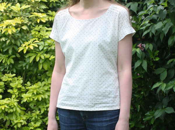 Belcarra blouse in cotton lawn