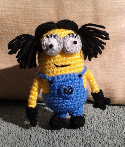 Anna minion front view