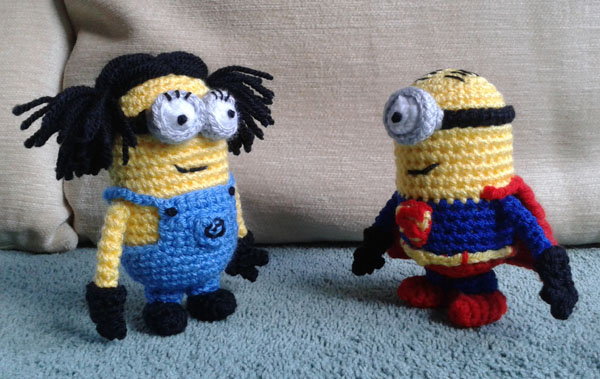 Superminion and Anna