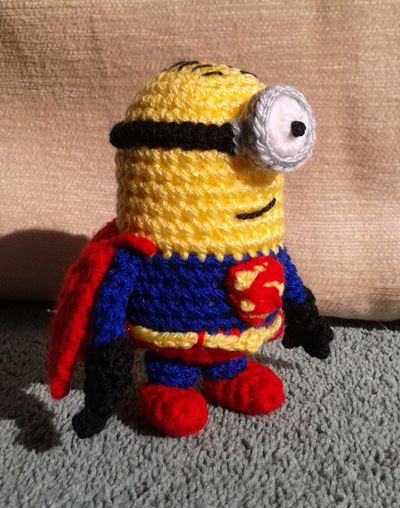 Superminion side view