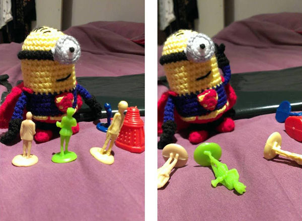 Superminion vs monsters