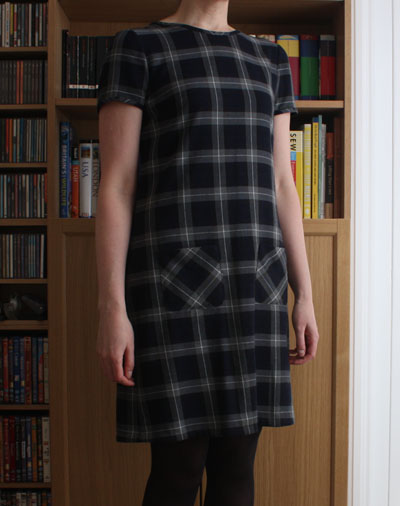 Plaid Laurel dress front
