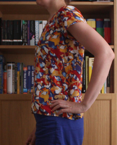 Grainline Scout Tee side view