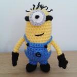 Crochet minion Ed