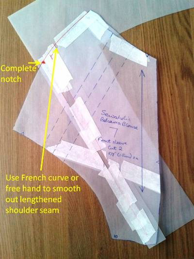 Belcarra shoulder adjustment picture 4