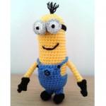 Kevin the crochet minion