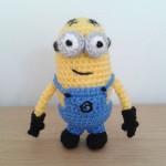 Crochet minion Bob