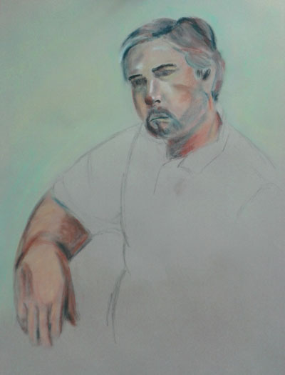 Second drawing from third portraits class