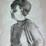 Drawing from portraits class