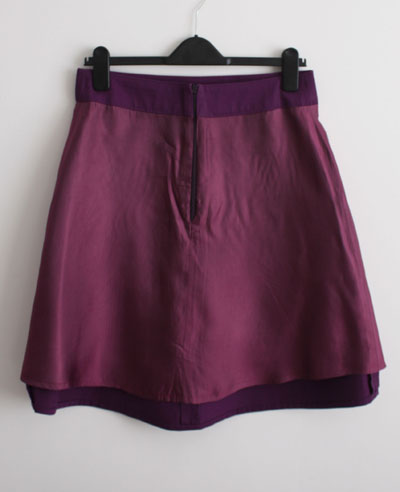 Ginger skirt with lining