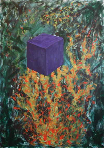 """Expressive painting """"Simple and Complex"""""""