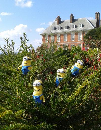 Minions at Uppark