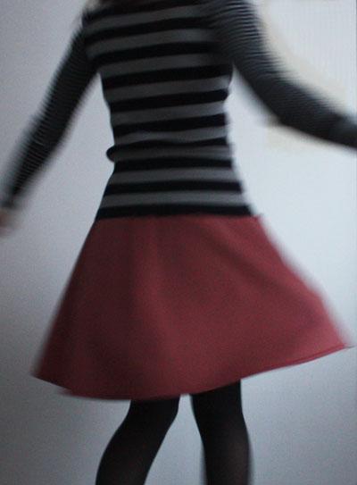 Sewaholic Hollyburn skirt twirling