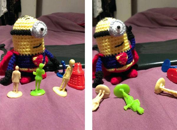 Superminion vs monsters