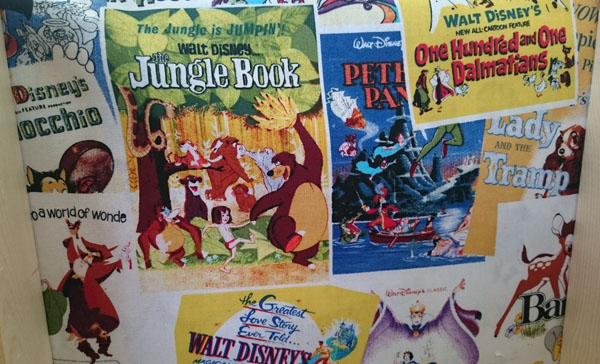 Disney films fabric