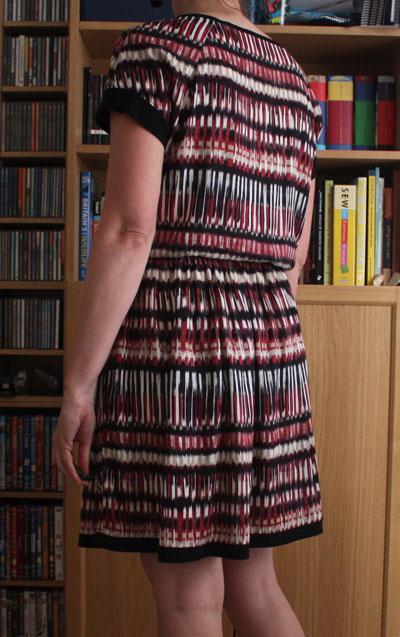 Belcarra dress back view