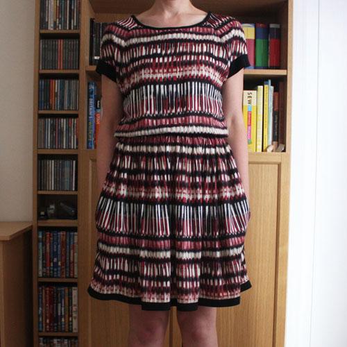 Belcarra dress front view